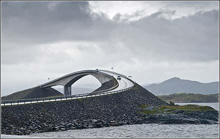 Atlanterhavsveien i Nord-Møre