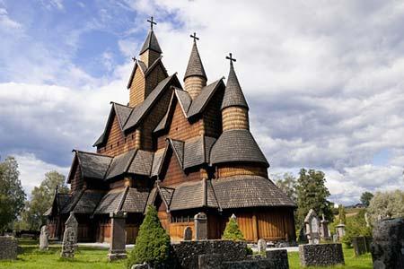 Heddal stavkirke i Telemark