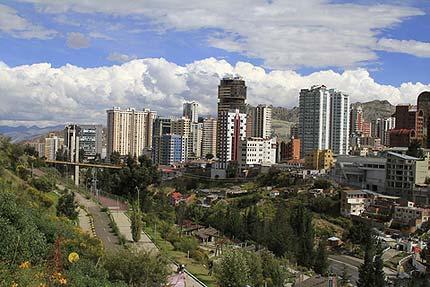 La Paz - verdens høyest beliggende hovedstad